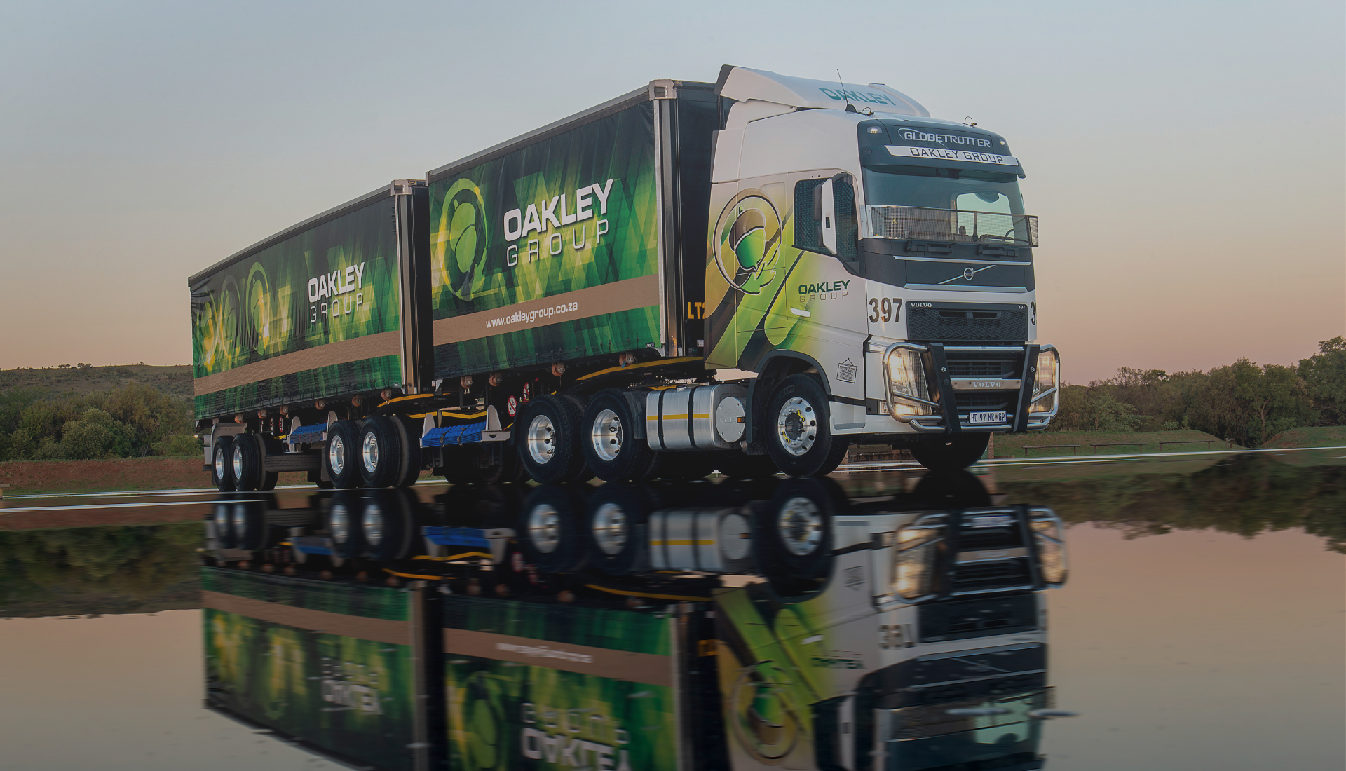 Oakley Group Truck transport day